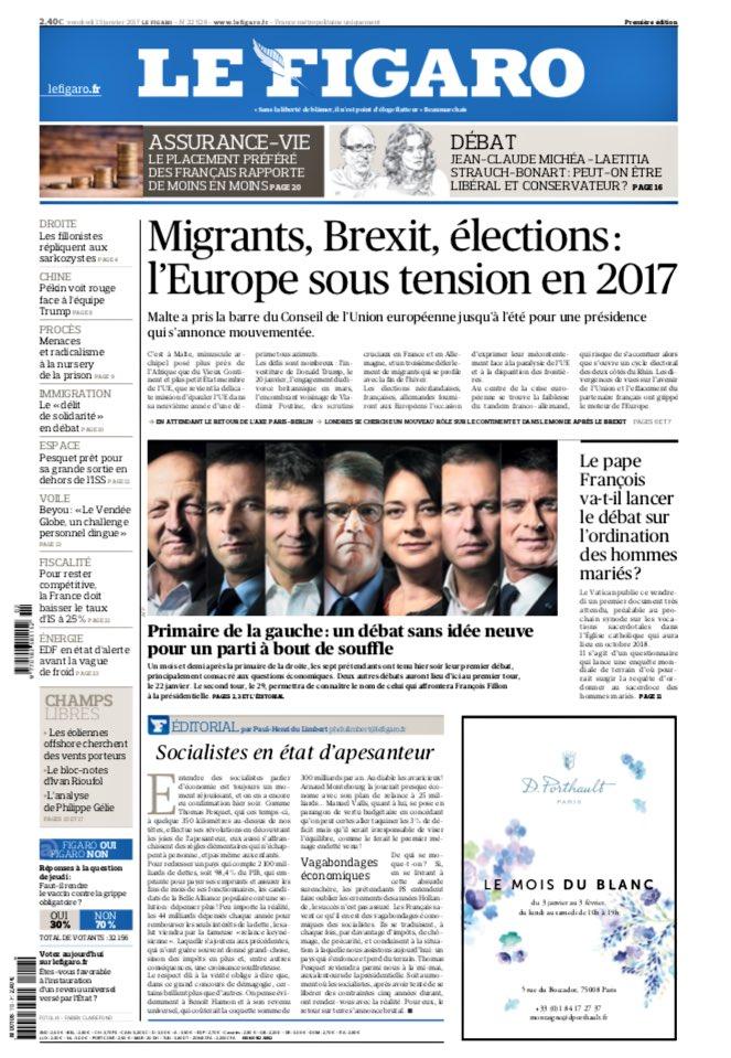 Le Figaro titre 'un débat sans idée neuve' en bouclant à 21h30, après moins de 45 minutes de #PrimaireLeDebat. 🔮😂#BouleDeCristalDeDroite
