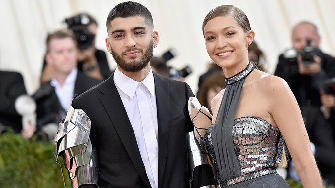 Gigi Hadid wishes Zayn Malik happy birthday with a sweet Instagram post.