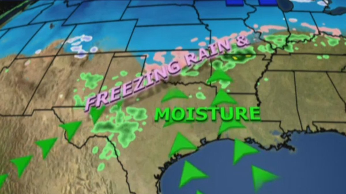 Winter storm expected to bring crippling ice across central US  via @travfed