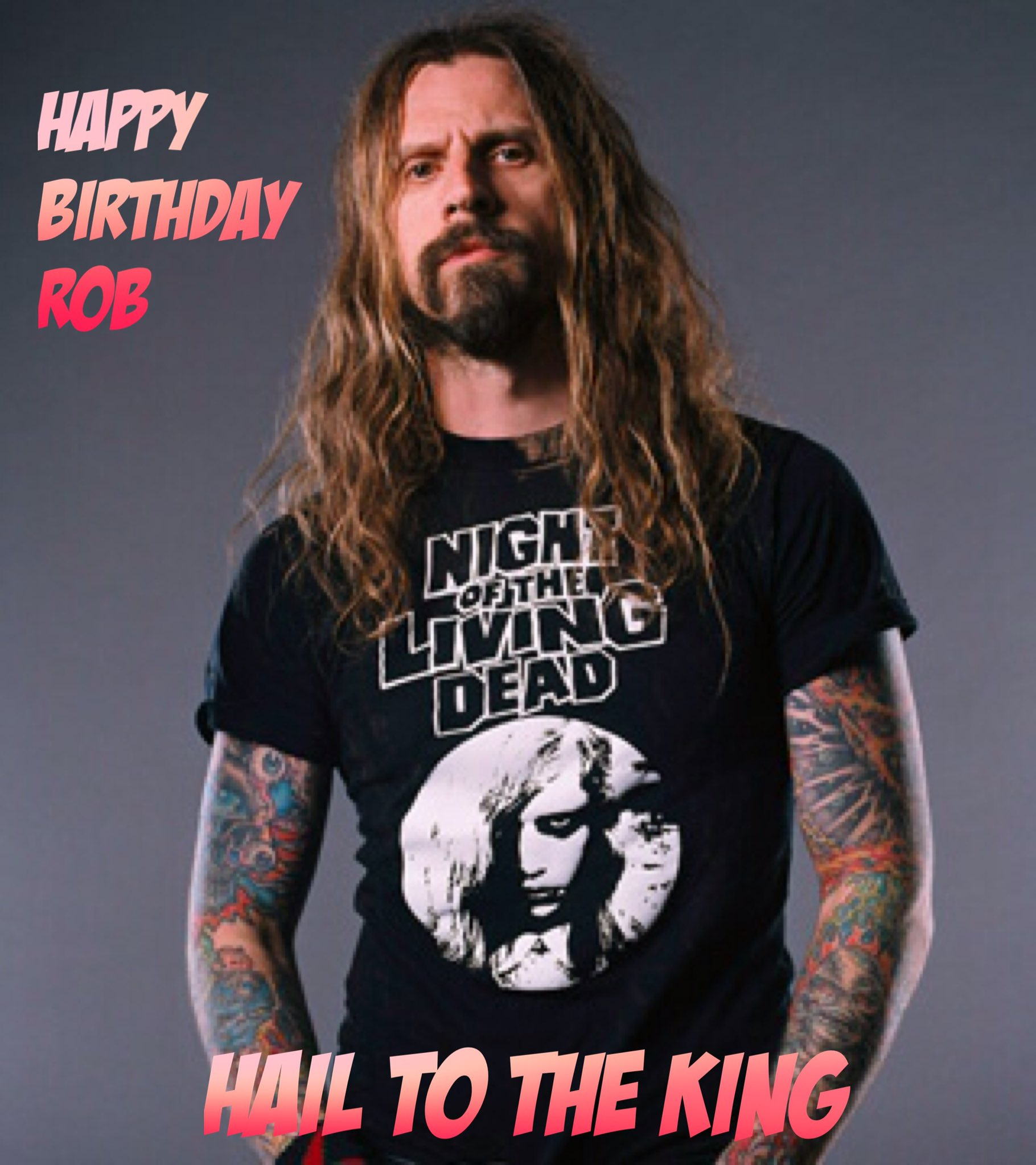 Happy Birthday to the legendary ROB ZOMBIE!