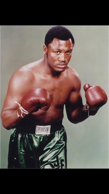 Happy 73rd Birthday to the late Joe Frazier. R.I.P Champ