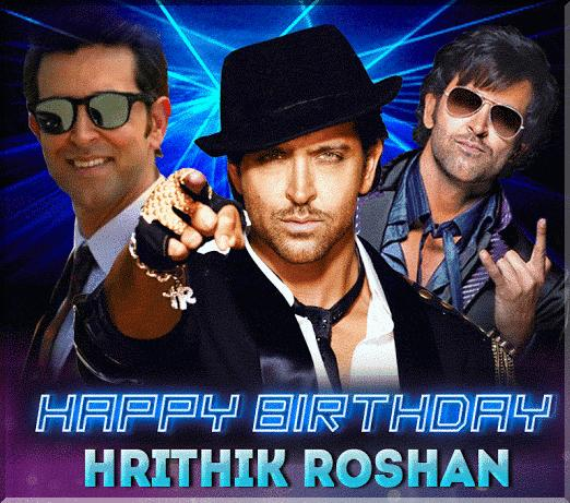Happy birthday Hrithik Roshan!!!!!