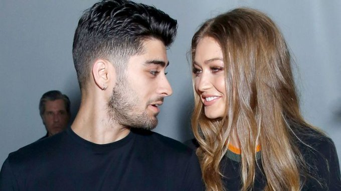 \Gigi Hadid Wishes Her Handsome Zayn Malik A Happy Birthday\  via
