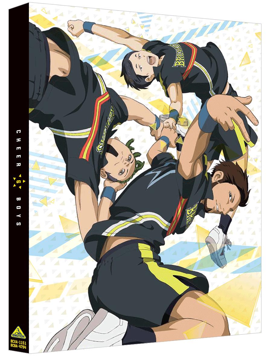 2/24発売『チア男子!!』Blu-ray&DVD第6巻のジャケット画像が公開!!キャラクターデザイン・鶴田眸さん描き下