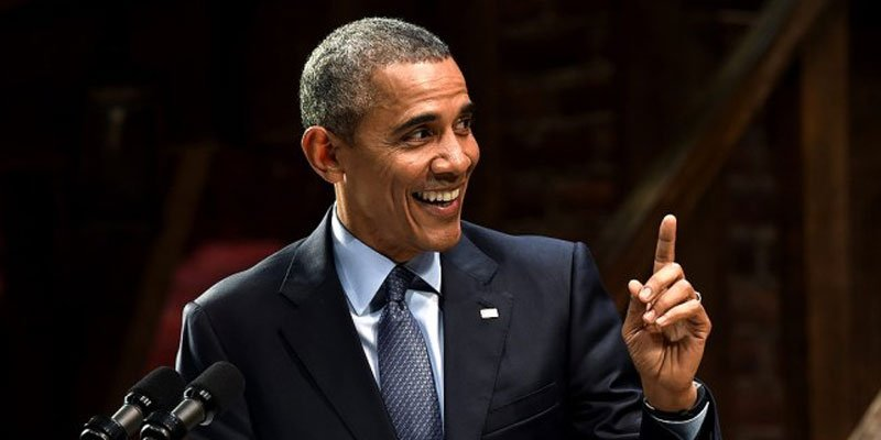 Barack Obama has 'one last dad joke' as President — and it's hilarious