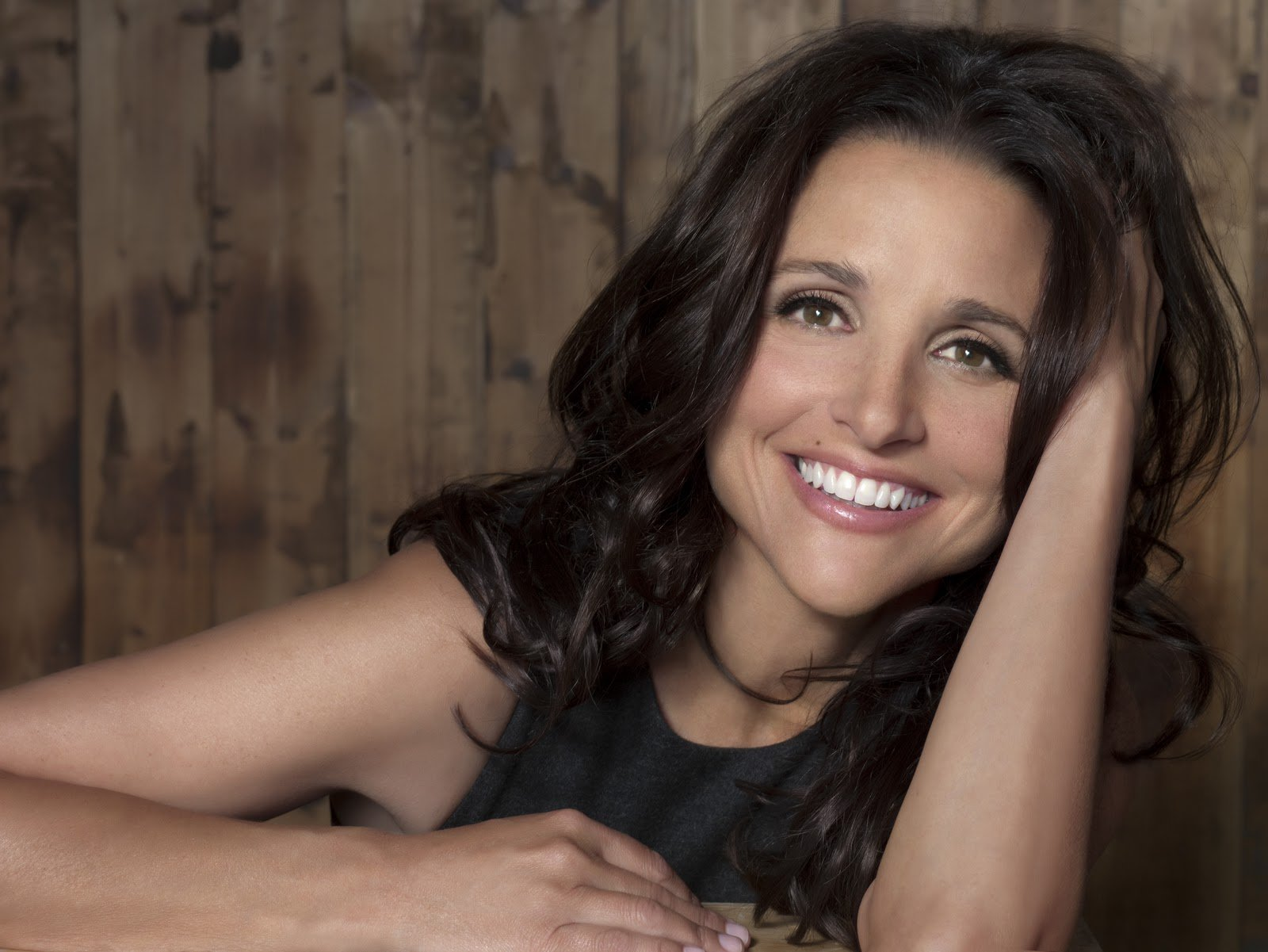 Do your Elaine dance from Seinfield.  Happy birthday: Julia Louis-Dreyfus - also former Grey\s star Patrick Dempsey