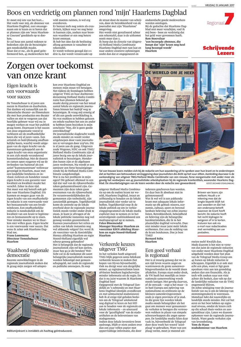 #ditismijnkrant: #ditismijnkrant