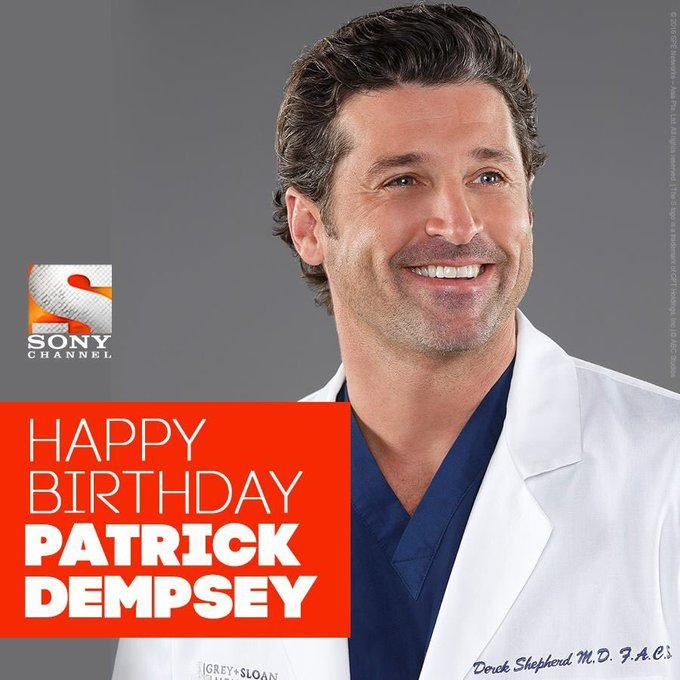 Happy birthday, Patrick Dempsey! <3