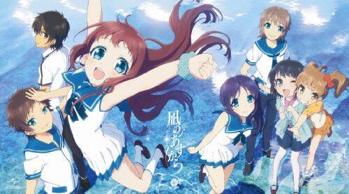 面白かった...( ´•̥̥̥ω•̥̥̥`)やばい、アニメで泣いたの久しぶりや美海推しで!#凪のあすから