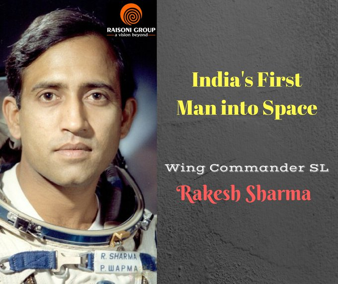 Happy Birthday Wing Commander (Retd.) Rakesh Sharma..