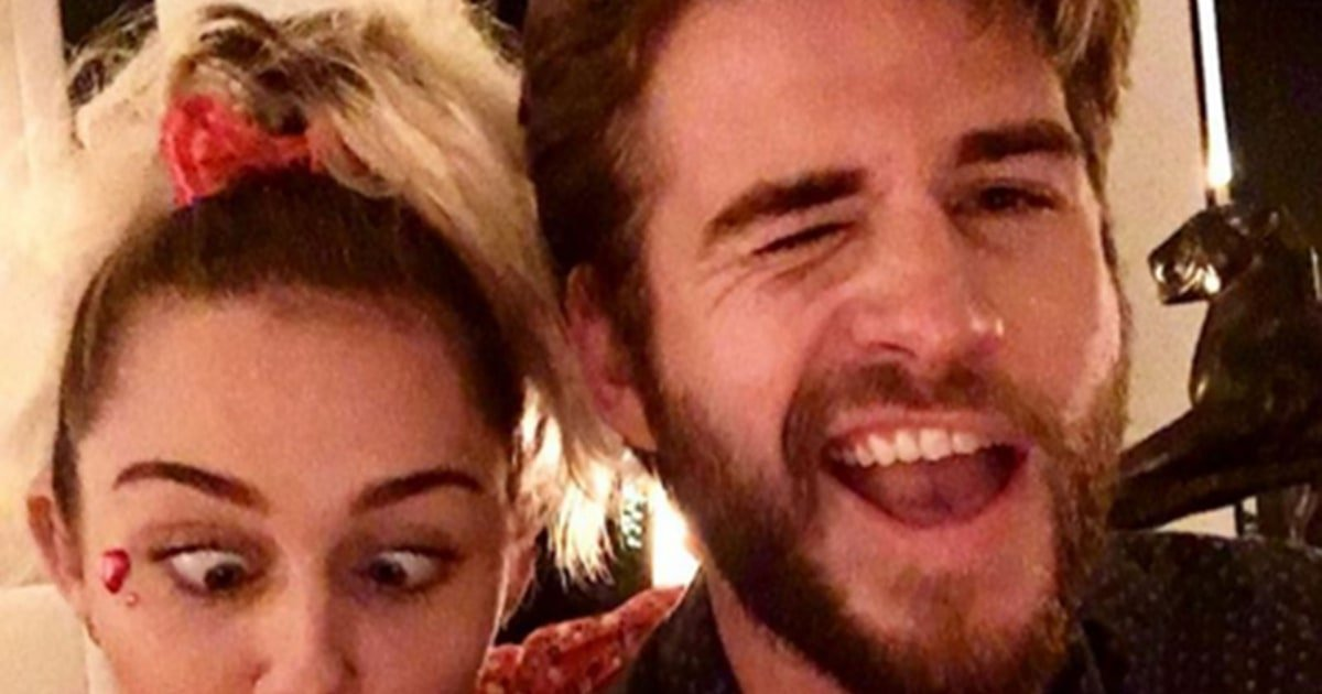 "Miley Cyrus wishes ""best friend\"" Liam Hemsworth a happy birthday:"