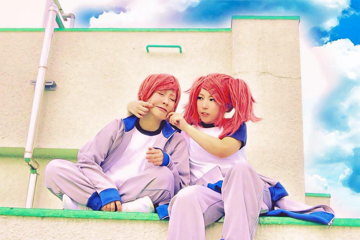 【あまんちゅ!】例のアプリで遊んだ双子が可愛かった…!!!!色合いがほんと可愛すぎるやろ……姉ちゃん:みとさん