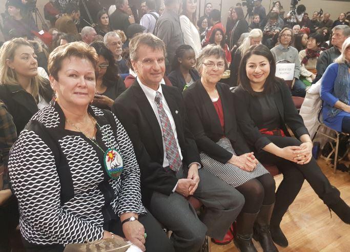 RT @PtboCounty: Awaiting the arrival of PMJT with @MaryamMonsef @MayorMarySmith & Chief Williams of @CurveLakeFN https://t.co/Q2YRuqPOEM