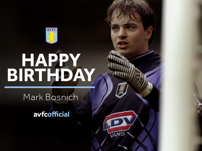 It\s a happy birthday to former Aussie Villan, Mark Bosnich!  Have a great day Mark!
