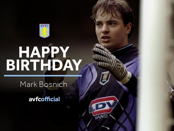 It\s a happy birthday to former Aussie Villan, Mark Bosnich!  Have a great day Mark!