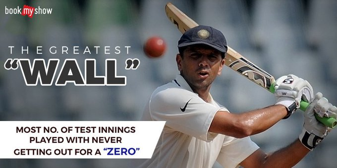 Happy Birthday to Rahul Dravid the wall of Indian Cricket.....