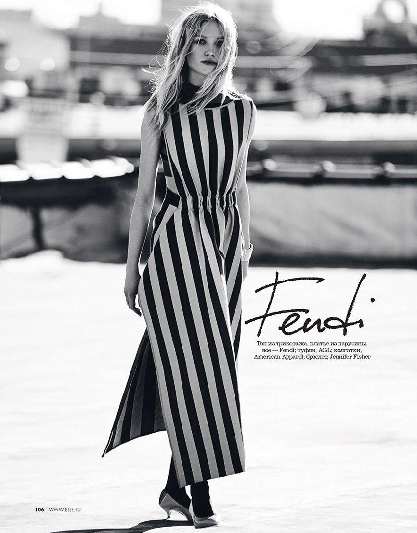 Vertical inspiratons. #FendiSS17 gets stripey in @Elle_ru https://t.co/Sx7e2BiAiA
