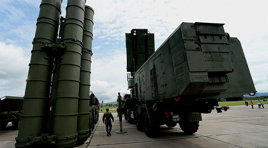Russia boosts anti-missile shield over Crimea with S-400 system