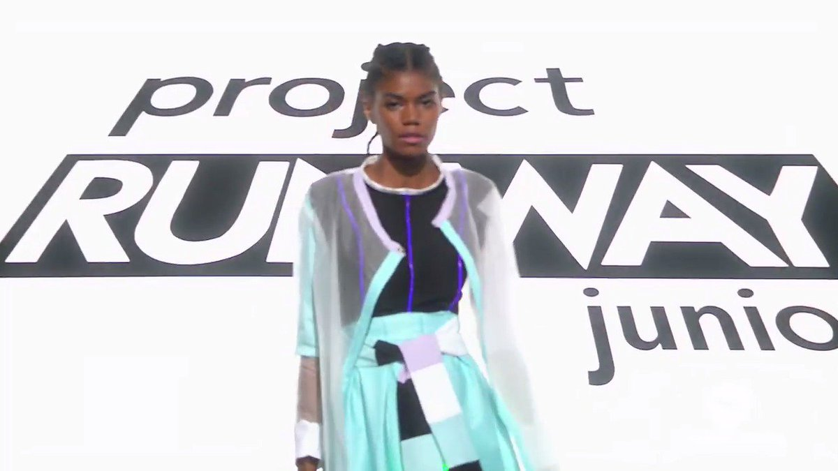 See which look really shines on the runway, this Thursday at 9/8c on @lifetimetv! #ProjectRunwayJunior https://t.co/rqG8auEfyt