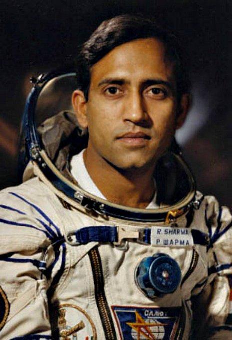 Happy birthday to India\s 1st astronaut Rakesh Sharma of Hyderabad