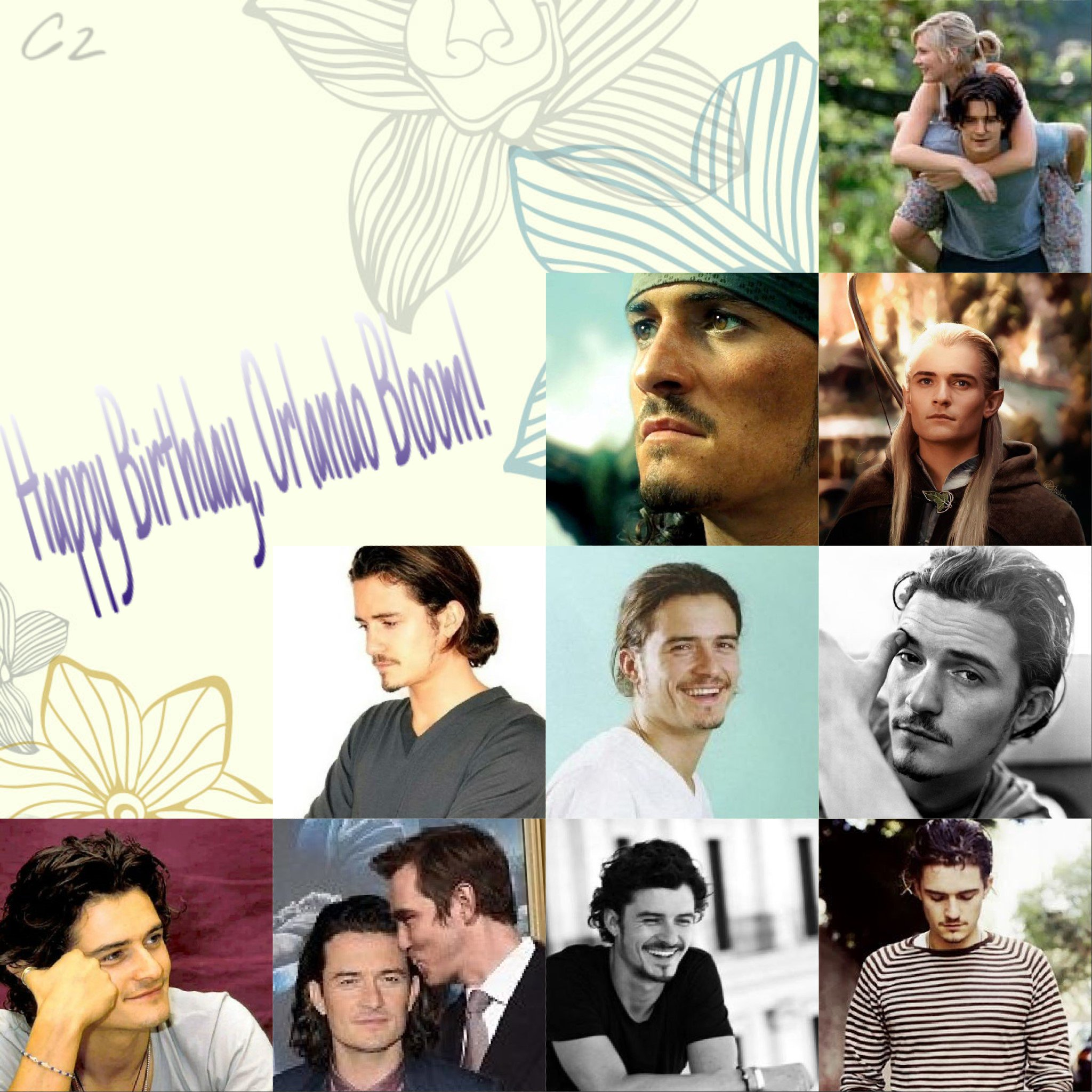 Happy Birthday, my beloved Orlando Bloom! 40 years old but still the best one
