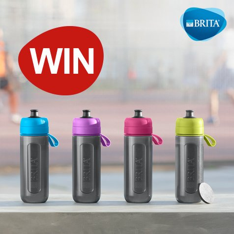 Head on over to https://t.co/nKpv1Gt7Rq for your chance to WIN a BRITA fill&go Active water bottle! #RT https://t.co/zQHxxLJEQY