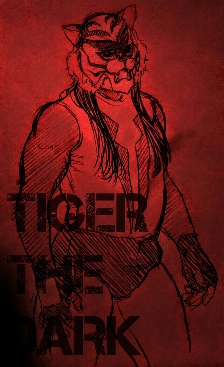 AC…タイガーザダーク好きぃ…#タイガーザダーク #タイガーマスクW