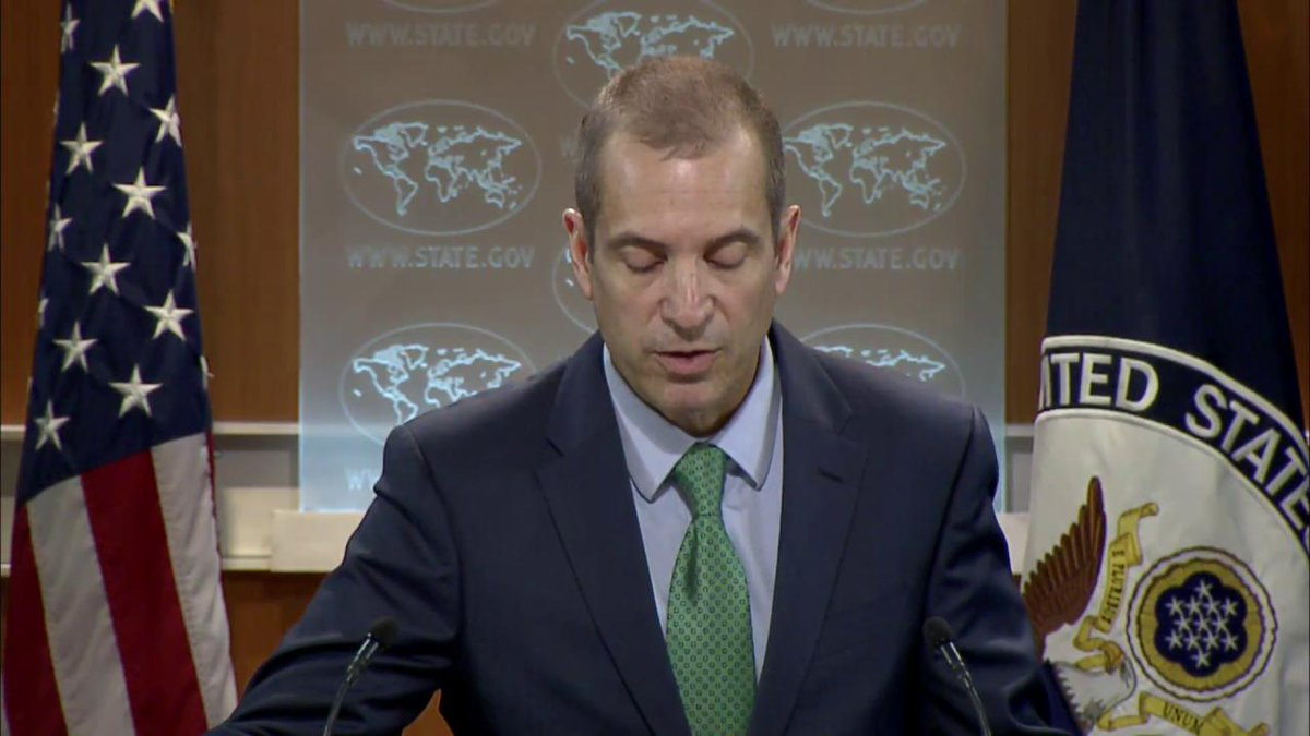 .@toner_mark comments on progress in #Sudan and the actions taken by U.S. today to lift select sanctions on Sudan.