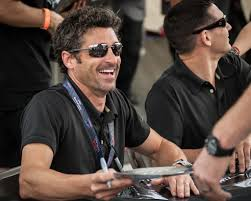 Happy birthday Patrick Dempsey. 24 hours at Le Mans. And in a tent.