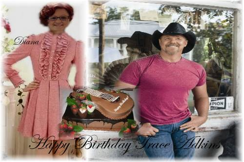 HAPPY BIRTHDAY TRACE ADKINS....