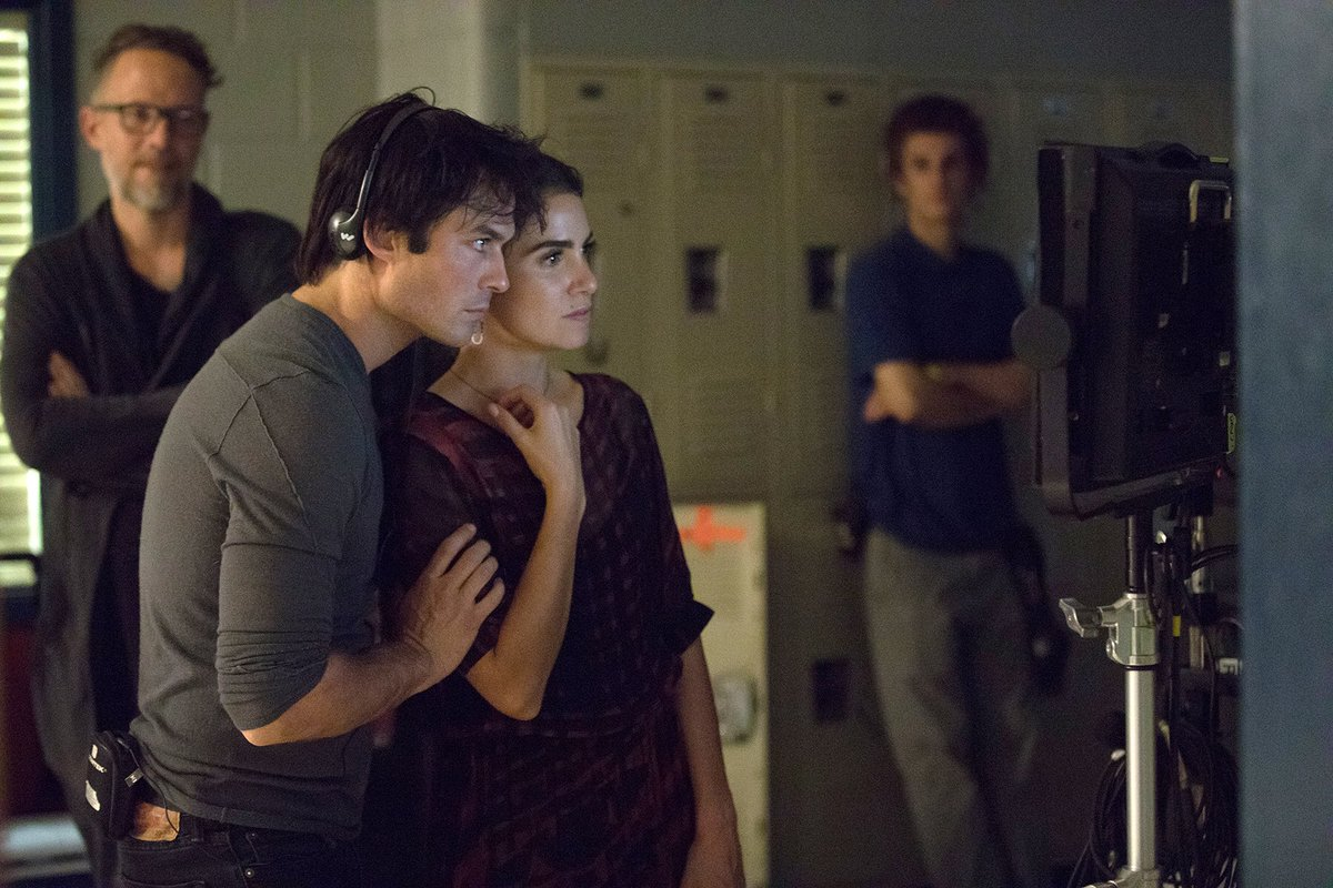 10 mins until #VampireDiaries ! I directed it- check it out! https://t.co/hTj8WfjIwe