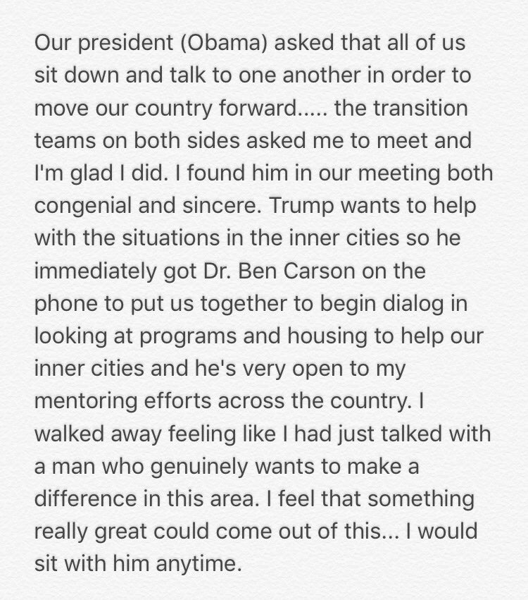 My meeting with @realDonaldTrump ... https://t.co/Tz2O2W3a5n