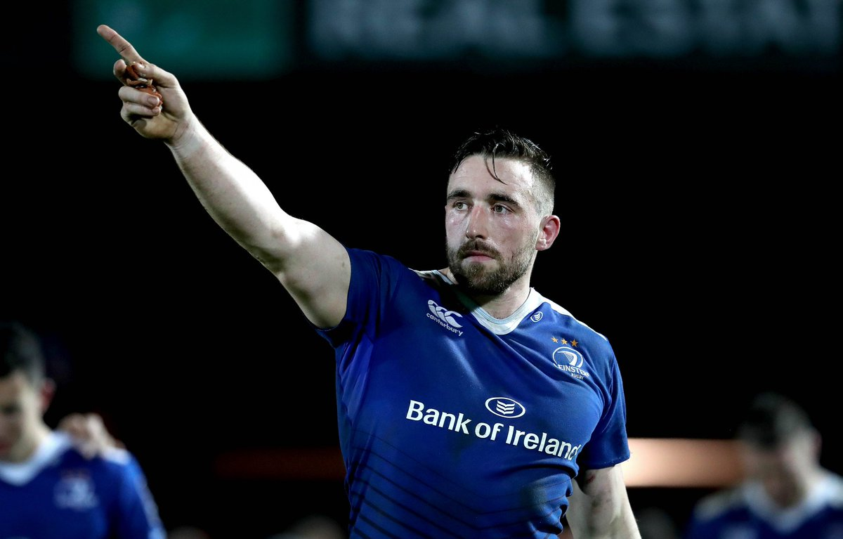 ☝☝☝ Hat-trick try for @JackConan1 #LeinsterBlue #LEIvMON https://t.co/c200C0A1qq