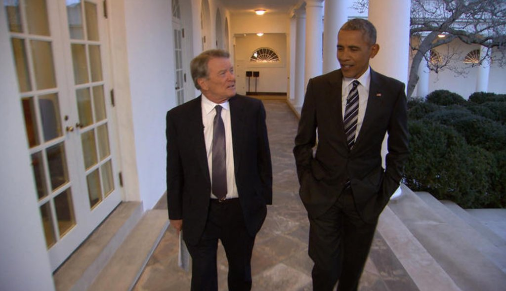 On Sunday's @60Minutes, Pres. Obama says his family is ready to leave the White House: