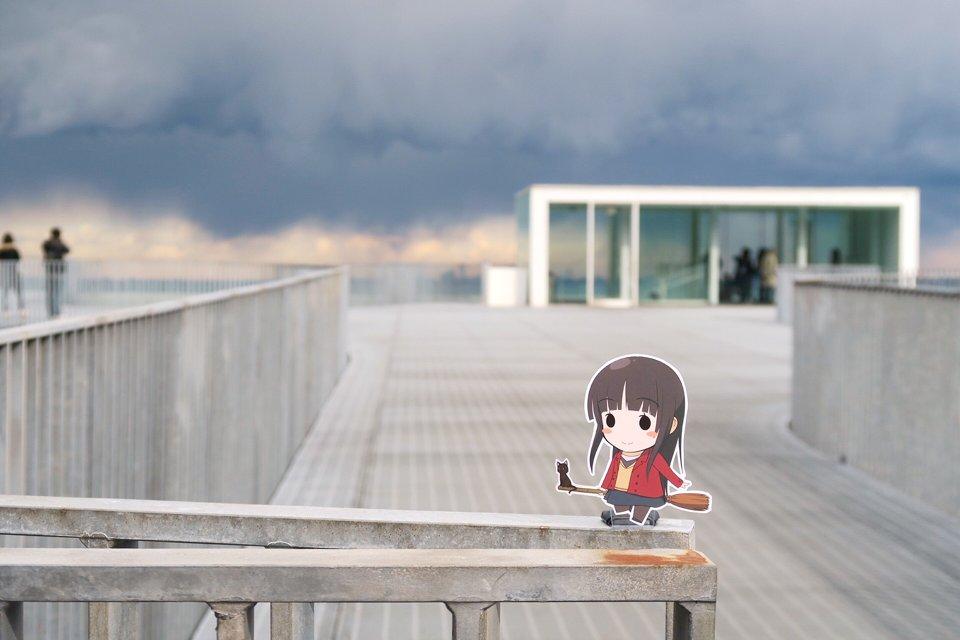 あまんちゅ!のMillion CloudsのPVで使われてる横須賀美術館にやってきました〜 #ぽなこれ