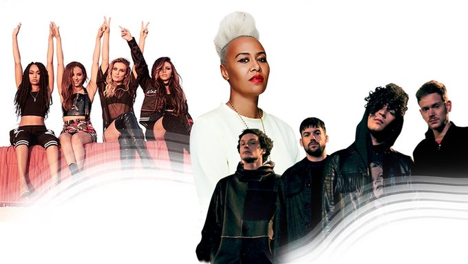 Little Mix, Emeli Sandé and The 1975 to perform at The Brit Awards on Wednesday 22nd February  2017, The O2, London.
