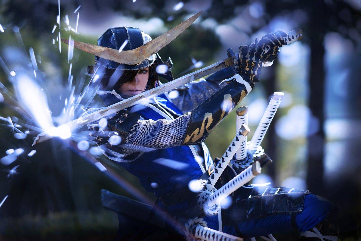 """「コスプレ:戦国BASARA」 Cosplay: Sengoku BASARA「来るよ!竜のLIGHTNINGだぜ!]"""""""