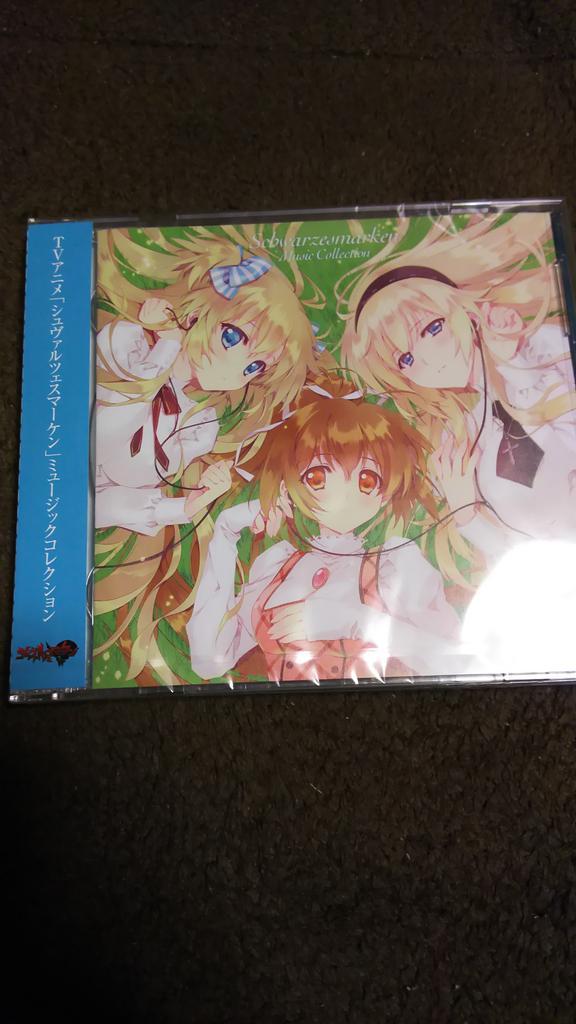 シュヴァケンのミュージックコレクション買いました(^^)凄い久し振りにCD買ったな~