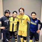 7番と23番と1番と55番!#浪川大輔 さん#安元洋貴 さん#days_anime#聖蹟高校サッカー選手権