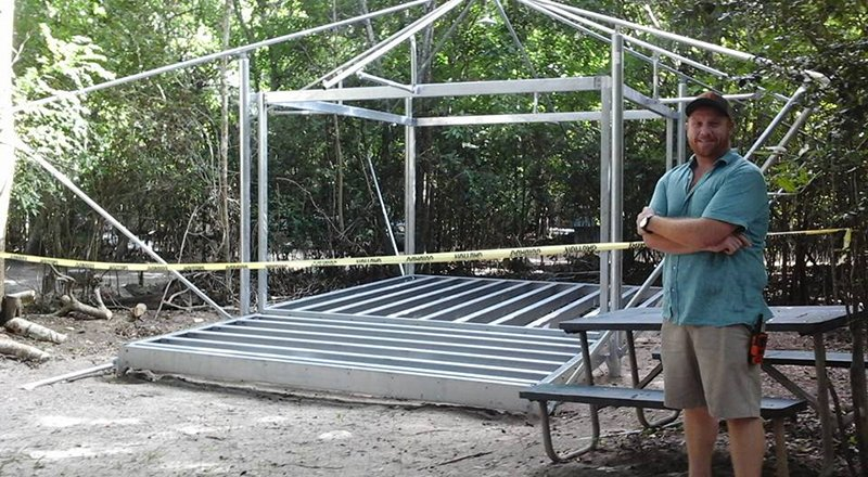Long Awaited Campground Improvements in Motion at Cinnamon Bay - St. John Tradewinds News