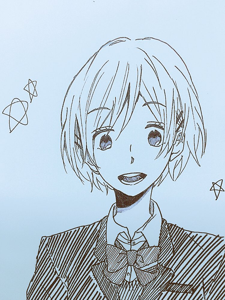 虹色デイズの希美ちゃん描いてみた!恵ちゃんと上手くいくといいね…😭