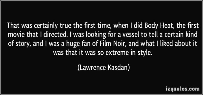 Happy birthday to Lawrence Kasdan!