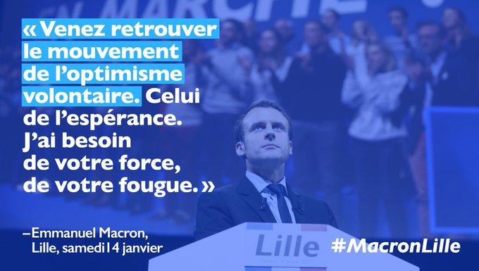 Rejoignez le mouvement de l'optimisme volontaire : https://t.co/RbxsPLwVvN #EnMarche #MacronLille