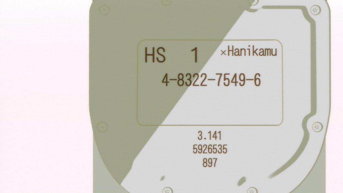 ガスメーターひだまりスケッチ ×ハニカム円周率はわかったけど真ん中の数字なんだろう #hidamari #anime_h