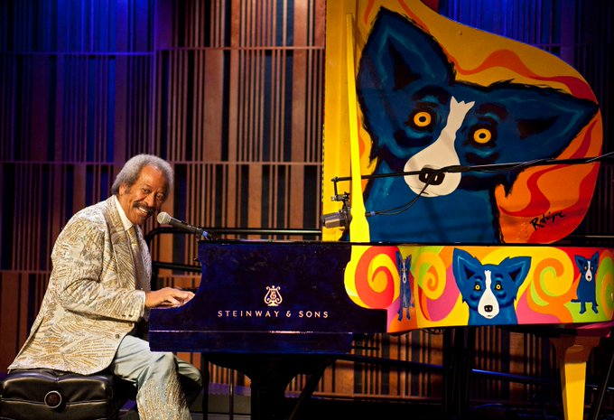 Happy Birthday Allen Toussaint! Born January 14, 1938 in New Orleans.