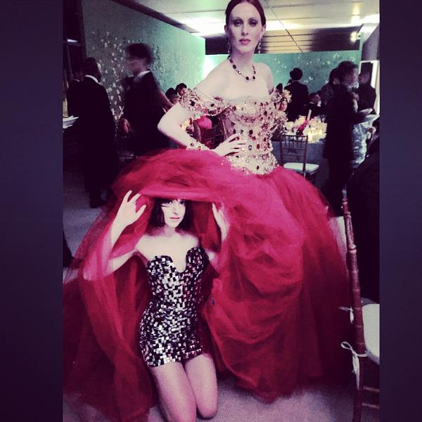 Happy Birthday to Karen Elson, Dakota\s friend