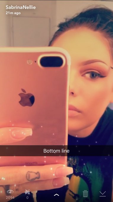 On my public Snapchat showing you guys how I do my eyebrows! SC: sabrina-Nellie https://t.co/JxBSi9H