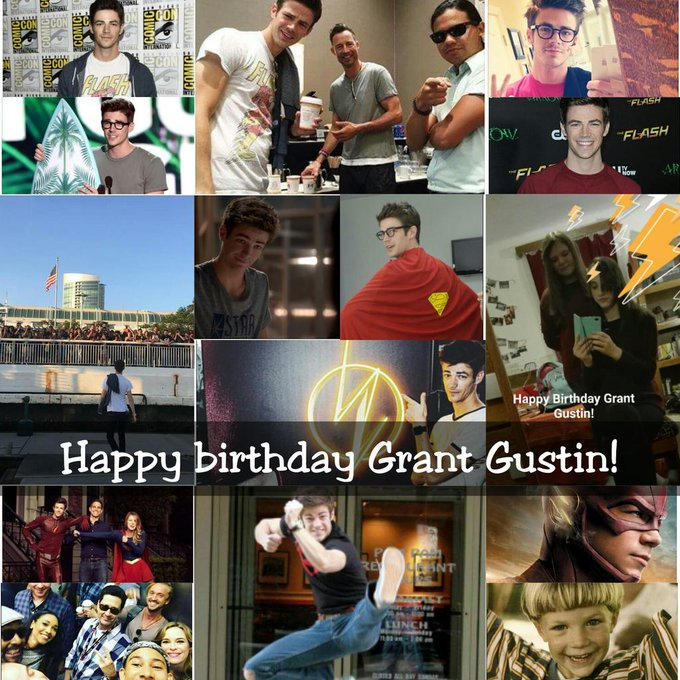Happy birthday Grant Gustin! :-)