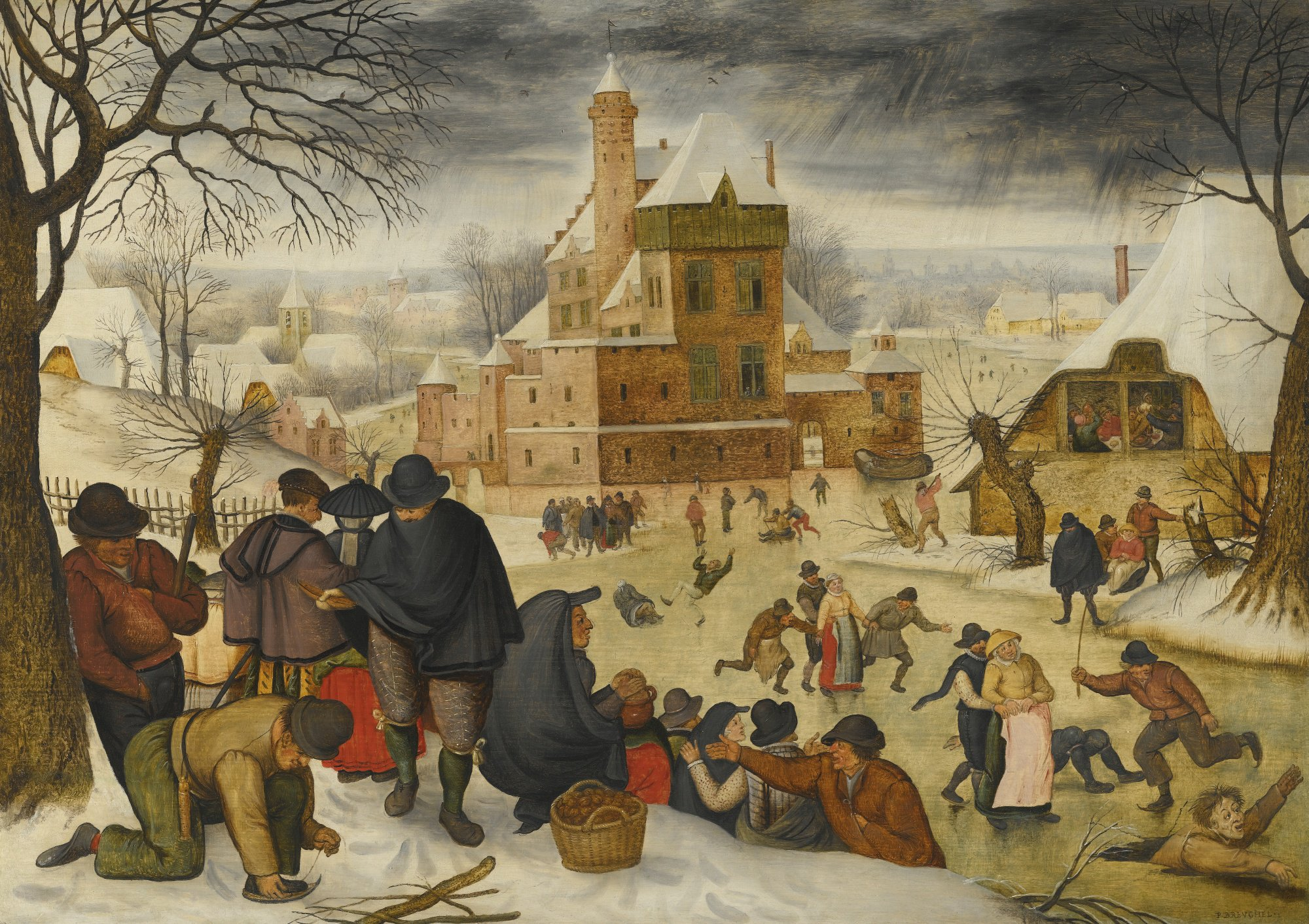In 1616 the artist Pieter Bruegel foresaw Trout Lake as everyone was imagining it today: https://t.co/Mo1UnNNXIK