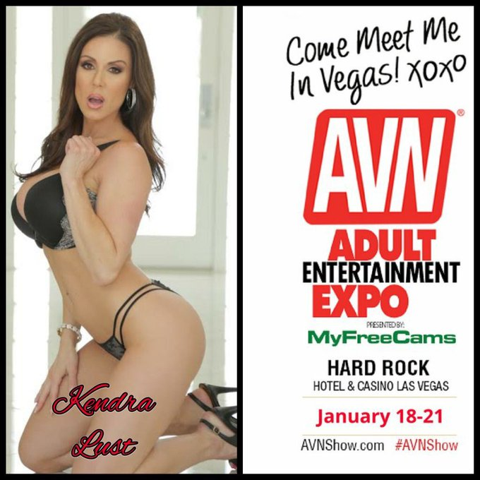 #LustArmy looking forward to @avnexpo Jan.18-21 https://t.co/8oe0fenuLc